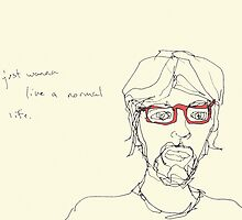 Red Specs- i just wanna live a normal life. by Jaelah