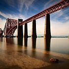 Forth Rail Bridge by David Queenan