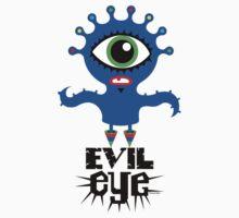 Evil Eye - on lights  by Andi Bird