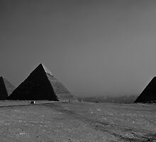 Pyramids of Cairo by Jenna Ebert Photography