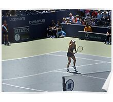 US Open - Wozniacki Warm Up Poster