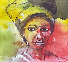 A Black Woman - nothing else by Maree  Clarkson
