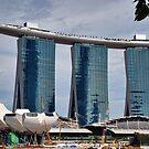 Marina Bay Sands Singapore by Adri  Padmos