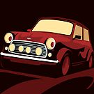 Classic Mini Cooper by ArtPrints