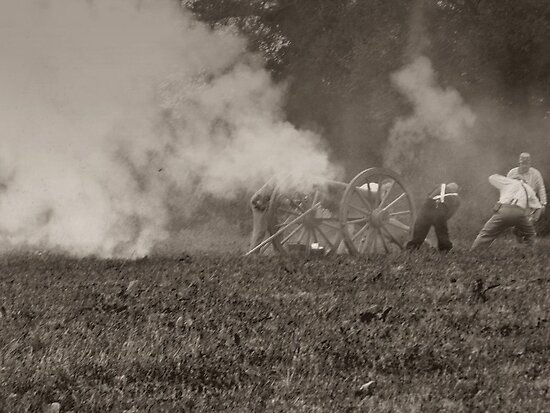 Firing the Cannon by trish725