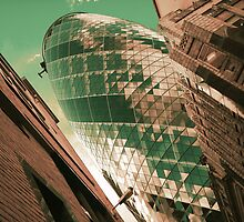 """Green Gherkin"" by Richard Ray"