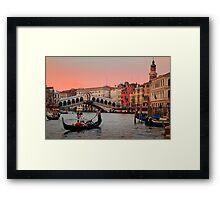 Il Bello Canal Grande Framed Print