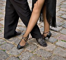 Dancing the tango in Buenos Aires by Philippe Widling