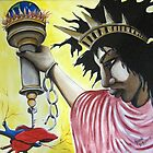 Senora Libertad y La Llave de la Libertad by helene ruiz