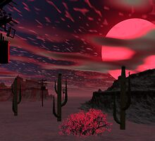 Sonora Sunset by Sazzart