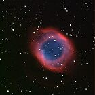 Helix Nebula in Aquarius by outcast1