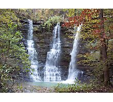 Twin Falls, Bufallo River Arkansas Photographic Print