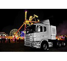 Truck n rides Photographic Print