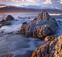 Kaikoura sunset 3 by Paul Mercer