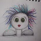 tim burton inspired monster! by Anna Rogers