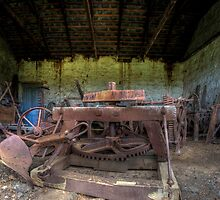Unused Farm Equipment by Scott Sheehan