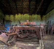 Unused Farm Equipment by Scott Sheehan