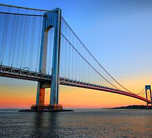 Verrazano-Narrows Bridge by Scott  Hudson
