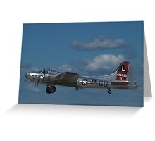 "B-17 Superfortress ""Yankee Lady"" Greeting Card"