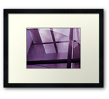 The PURPLY XS! Framed Print