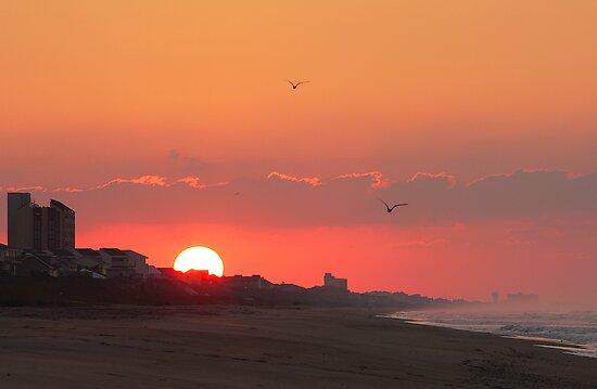 Pine Knoll Shores Sunrise by JGetsinger