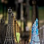 Eiffel Towers and towers by Sophia Pagan