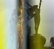 Estatua de la Fuente by ceferino