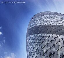 World's biggest Gherkin by Paul Hickson