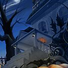 Halloween Porch by Skye Renaud