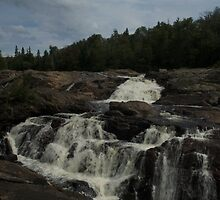 White Sands waterfall (2) Northern Ontario by creativegenious