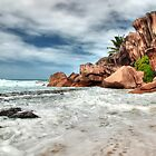 Anse Coco, La Digue island, Seychelles by Gyuri Nagy