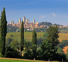 San Gimignano by Inge Johnsson
