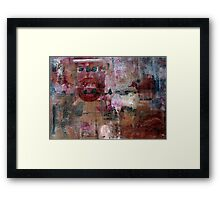 A Glorious Mess Framed Print