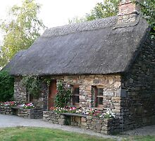 Old Famine House[Replica] Newmarket,,Co. Kilkenny,Ireland. by Pat Duggan