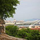 Pier View from Viejo San Juan by Swan Diaz