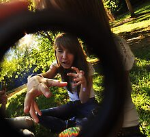 Fisheye Fun.2 by Andrea Morris