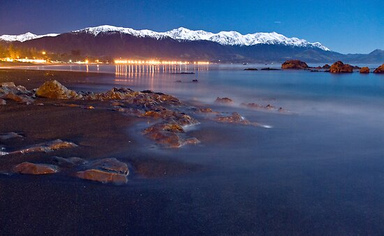 A beautiful Kaikoura night by Paul Mercer