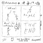 'Adventure' by Ted Scribbles by Scapetti