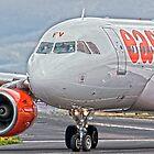 easyJet Airbus 319 by Mark Kopczewski