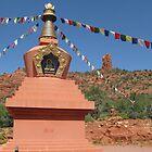 Buddhist Stupa Sedona  by aura2000