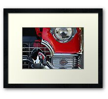 """"""" Close Up and Personal """" Framed Print"""