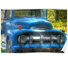 Old Ford Truck Poster