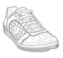 Sample Shoe Patent Design by devalpatrick