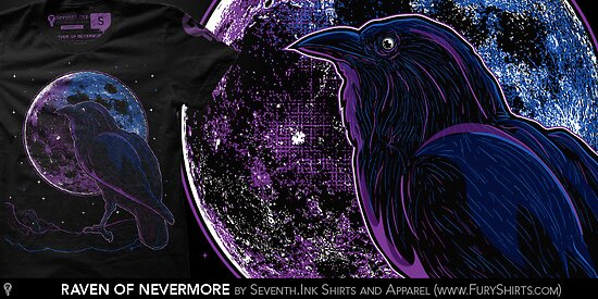 Raven of Nevermore by seventhfury