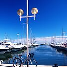 French Riviera blue by faithie