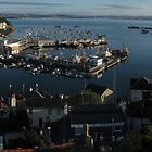 Brixham Harbour panoramic by StephenRB