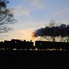 Evening train at Bewdley by kgvuk