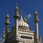 The Royal Pavilion in Brighton by Steve Churchill