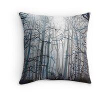 'Fog Descending' Throw Pillow