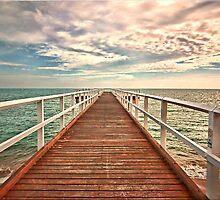 Ocean meets the Sky by Kym Howard